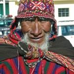 Portrét muže z Peru