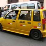Taxi Lima Peru